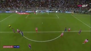 گل های بازی بارسلونا 2 - اتلتیکومادرید 3