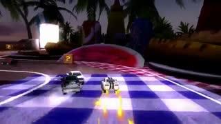 تریلر بازی جذاب Table Top Racing - ماشین سواری رو میزی اندروید