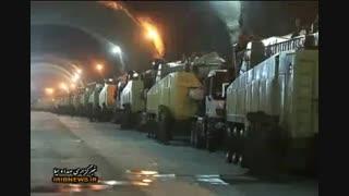 شهرک موشکی سپاه ایران 500 متر زیر زمین !