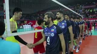 نگاهی دیگر به دیدار ایران و چین در مسابقات انتخابی المپیک، از دریچه دوربین فدراسیون