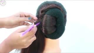 آموزش مدل مو دخترانه رول پیچی- مومیس مشاور و مرجع تخصصی مو