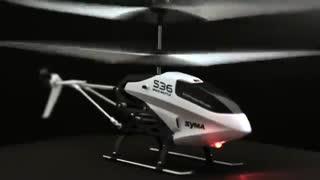 هلیکوپتر شارژی syma s36 ارزان و خوش پرواز/نوین آرسی