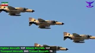مقایسه تجهیزات جنگی و ارتش دو کشور ایران و آمریکا
