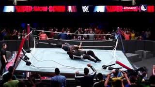 صحنه های محشر بازی  زیبای کشتی کج WWE 2K20