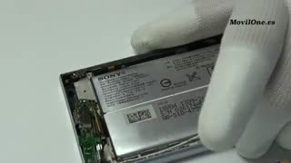 آموزش تعویض گلس گوشی  Sony Xperia XA2