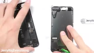 آموزش تعویض گلس گوشی  iPhone 7 Plus