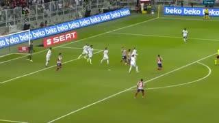 خلاصه بازی رئال مادرید 0 (4) - اتلتیکومادرید 0 (1) + صربات پنالتی - فینال سوپرکاپ اسپانیا