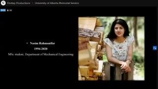 مراسم یادبود پرکشیدگان پرواز تهران کیاف از دانشگاه آلبرتا - قسمت 7