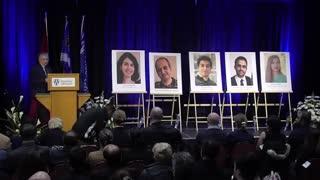 مراسم یادبود پرکشیدگان ایرانی در دانشگاه ویندزور کانادا