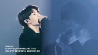 Born Singer || BTS Stage