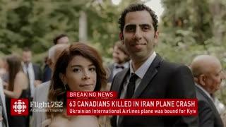 پوشش خبری ویژه از هواپیمای اوکراینی از شبکه کانادایی
