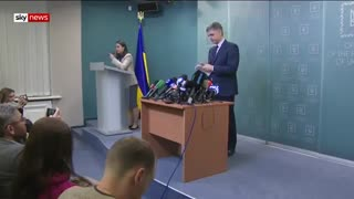 سقوط هواپیمای اوکراینی - داستان خلبان اوکراینی و همسرش