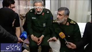 سردار حاجیزاده: اگر ما بلافاصله اطلاع رسانی میکردیم سیستم پدافندی ما فشل میشد و امنیت مردم به خطر میافتاد