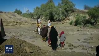 گلایههای مردم سیلزدۀ سیستان و بلوچستان