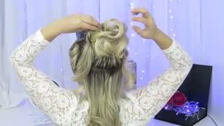 آموزش مدل مو دخترانه شاهزاده خانم- مومیس مشاور و مرجع تخصصی مو