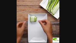 طرز تهیه یک غذای رژیمی ایتالیایی کم کربوهیدرات - سبزی لاین
