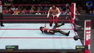 مسابقه جذاب کمربند قهرمانی کشتی کج - WWE 2K20
