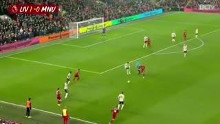 خلاصه بازی لیورپول 2 - منچستریونایتد 0 (هفته بیست و سوم لیگ برتر انگلیس)