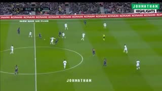 خلاصه بازی بارسلونا 1 -  گرانادا 0 (هفته بیستم لالیگا اسپانیا)