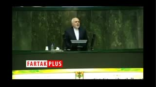 توضیحات ظریف درباره ترک زود هنگام صحن مجلس در آبان ماه