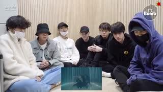 BTS' BLACK Swan 'Art Film Reaction ❤ چالش آبجی آنا❤