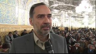 مراسم بزرگداشت شهید سلیمانی با حضور ۱۲۰ نفر از شیوخ و سران قبایل و عشایر عراق