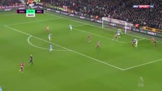 خلاصه بازی شفیلد یونایتد 0 - منچسترسیتی 1 (هفته بیست و چهارم لیگ برتر انگلیس)