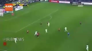 گل فوق العاده زیبای حسام عوار، بازیکن فرانسوی تیم فوتبال لیون در جام اتحادیه فرانسه