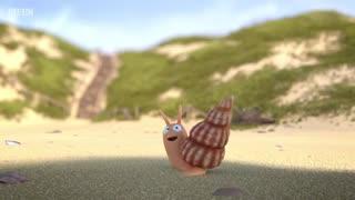 انیمیشن حلزون و نهنگ (مناسب کودکان)
