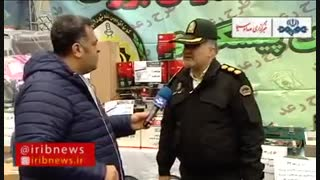 در طرح رعد 32 پلیس ، 649 سارق ، مالخر و زورگیر دستگیر شدند