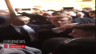 درگیری لفظی مکرون با پلیس رژیم صهیونیستی