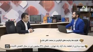 علی زعفری   ظرفیت ها و فرصت های کارآفرینی در صنعت کافی شاپ   شبکه ایران کالا