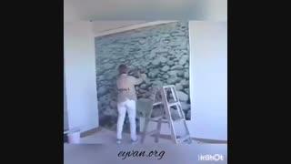 نصب پوستر دیواری