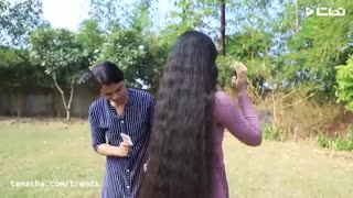 رکورد گینس دختری با بلندترین موی جهان