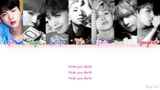 (BTS- Mic Drop (lyrics