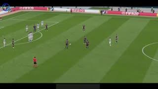 بازسازی 10 ضربه آزاد لیونل مسی در FIFA 20