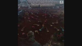 ساخت بیمارستان ۱۰۰۰ تختخوابی در ۱۰ روز