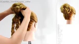 آموزش مدل مو دخترانه پریشون- مومیس مشاور و مرجع تخصصی مو