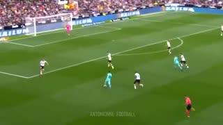 خلاصه بازی والنسیا 2 - بارسلونا 0 از هفته بیست و یکم لالیگا اسپانیا