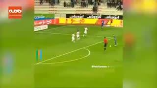 هنرنمایی بازیکن برتر بازی استقلال-الکویت