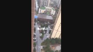 فیلمی از شهر قرنطینه شده ووهان چین در پی ویروس کرونا