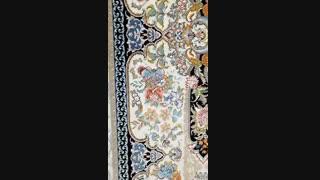 فرش زیبای خانه رویایی کرم چرک 1000 شانه برجسته