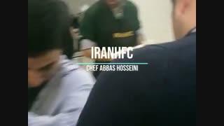 کلاس آموزش راه اندازی فست فود توسط سرآشپز عباس حسینی