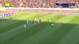 خلاصه بازی جذاب و دیدنی پرسپولیس 2 - تراکتور 0 از هفته هفدهم لیگ برتر ایران