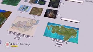 مقایسه نقشه بازی ها