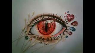 نقاشی چشم فانتزی