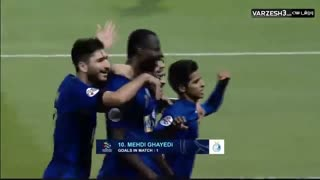 گل های بازی الریان قطر صفر - استقلال تهران 5
