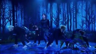 اجرای آهنگ Black Swan از بی تی اس BTS در برنامه The Late Late Show