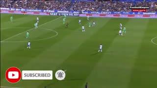 خلاصه بازی رئال مادرید 4 -ساراگوسا 0 از جام حذفی اسپانیا