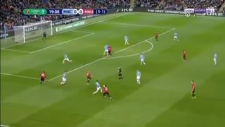 خلاصه بازی منچسترسیتی 0 - منچستریونایتد 0 از بازی برگشت نیمه نهایی جام حذفی انگلیس